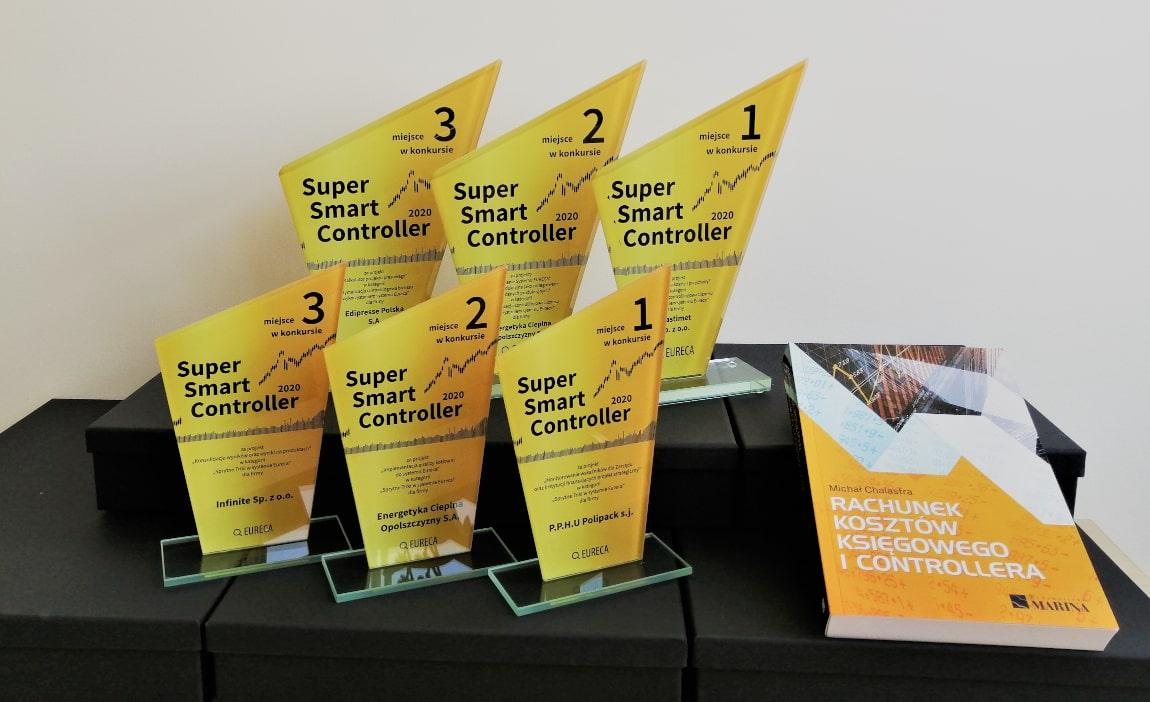 Konkurs Super Smart Controller na najlepszą optymalizację controllingową biznesu z wykorzystaniem systemu Eureca - Nagrody