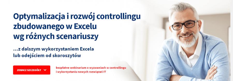 Optymalizacja i rozwój controllingu zbudowanego w Excelu